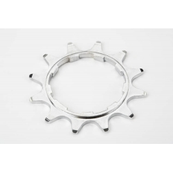 "Brompton 12T rear sprocket 2mm, 2/1-spd, 3/32"" chain, Shimano"