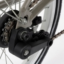 Brompton chain tensioner assembly for bikes with a derailleur - QCTADR