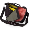 Brompton S bag, complete with frame, strap and recycled hose cover