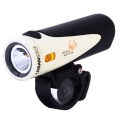 Urban 550 rechargeable front light - Quartz - from Light and Motion