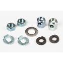 Brompton 3 speed axle nuts/washers for STURMEY ARCHER hub