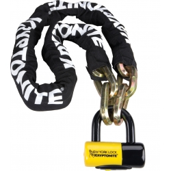 New York Fahgettaboudit 150cm chain and padlock from Kryptonite