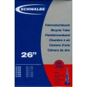 "Schwalbe 26 x 1.0 - 1.5 "" inner tube for mountain bike presta valve"