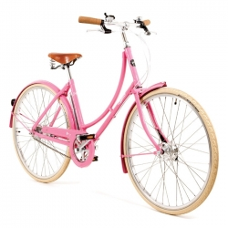 Pashley Poppy ladies bicycle - Pink - 17.5 inch frame