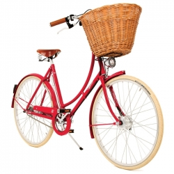 Pashley Britannia ladies bicycle - Red - 17.5 inch frame