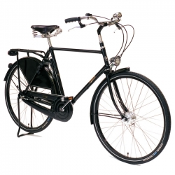Pashley Roadster Sovereign bicycle - Black - 22.5 inch frame