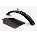 Brompton replacement front mudguard blade including flap - BLACK