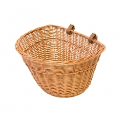 Pashley Princess wicker basket - comes with support