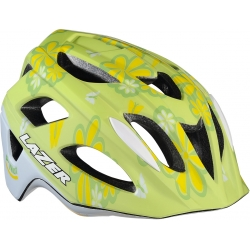 P'Nut flower green uni-size kids bike helmet