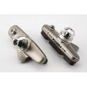 Pair of Brompton Fibrax brake pads AND holders