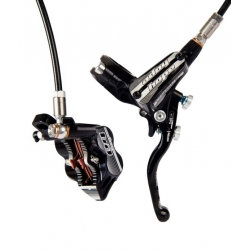 Hope Tech 3 E4 Rear- No Rotor - Black L/H