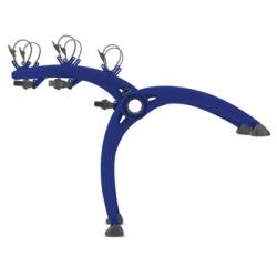 Saris Bones 3-bike boot rack - Blue
