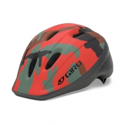 Giro Rodeo Red / Camouflage Uni-fit childs helmet