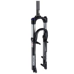 "Rock Shox XC28 MagTK - Coil QR Black TurnKey Crown Adjust Steel Str 1 1/8"" Rim/Disc (100mm max travel) - MY14"