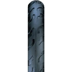Nutrak 12 x 1-1 / 2 - 2-1 / 4 inch semi-slick pushchair tyre black