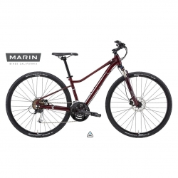 Marin 2015 San Anselmo DS3 ladies hybrid bike - 17 inch