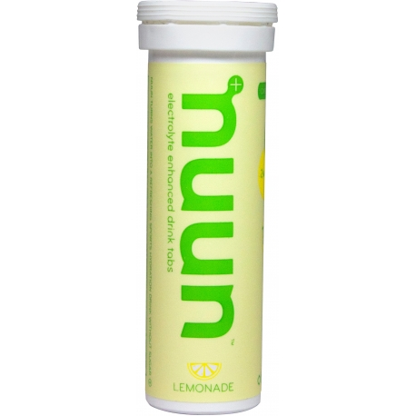 Lemonade electrolyte enhanced drink tablets by nuun