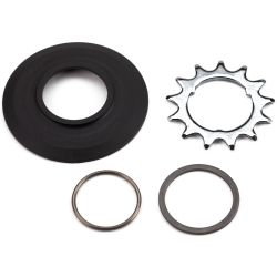 Brompton sprocket set 13T for any 3 spline Sturmey Archer - new 3/32 inch version