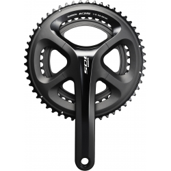 Shimano FC-5800 105 double chainset, HollowTech II 175 mm 50 / 34T, black