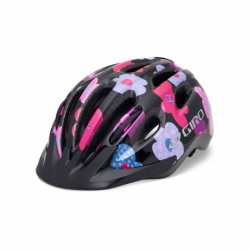 Giro Flurry II Youths Black/Pink Uni-fit Helmet - 50-57cm