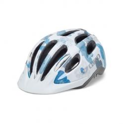 Giro Flurry II Youths White/Blue Flowers Uni-fit Helmet - 50-57cm