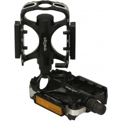 M:Part alloy City pedals - black / silver