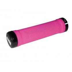 ODI Ruffian Lock-On Kit Pink/Black 130mm