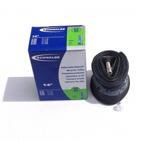 14 inch inner tube by Schwalbe - Schrader valve