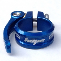 Hope seat clamp - quick release - 34.9mm - Blue