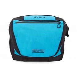 Brompton C bag - Black / Lagoon Blue - without frame