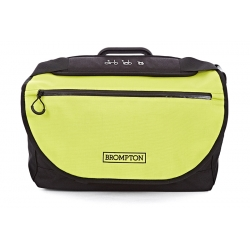Brompton S bag - Black / Lime Green