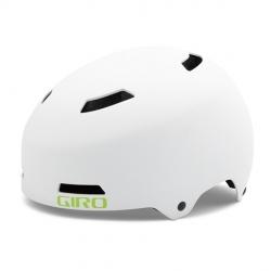 Giro Dime bicycle helmet - Matt White / Lime
