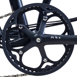 "Brompton BLACK chain ring / guard assembly for 50T ""spider"" chainwheel"