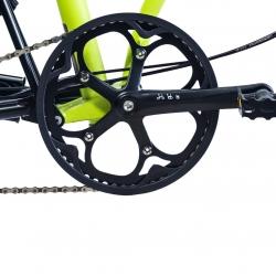 "Brompton BLACK crankset with 44T ""spider"" chainwheel"