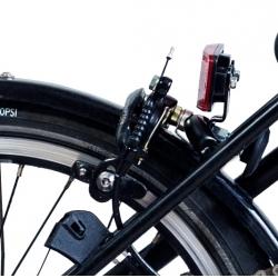 Brompton BLACK brake caliper - rear - dual pivot