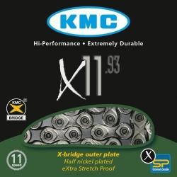 KMC X11-93 11-speed MTB/road bike chain