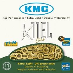 KMC X11ELG Gold 11-speed MTB/road bike chain