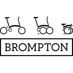 Brompton 2017 M3L Red folding bike