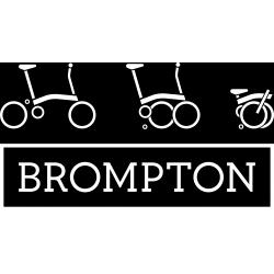 Brompton gear upgrade kit - 2017 2 speed to 6 speed hub/derailleur