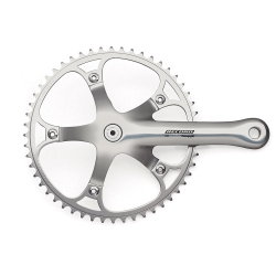 Campagnolo Pista Chainset Alloy Silver 170mm 50t
