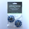 12 Tooth Hope Jockey Wheels (pair) - Blue