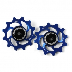 12 Tooth Hope Jockey Wheels (pair) - Blue