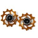 12 Tooth Hope Jockey Wheels (pair) - Orange