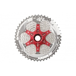 Sunrace MX8 11-speed cassette 11-46T - Champagne