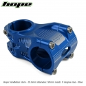 Hope A/M Stem 0 degree 50mm 31.8mm diameter - Blue