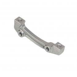 Hope Mount F Post Cal to IS (Front 180mm / Rear 160mm)  Silver