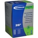 """Schwalbe 26 x 2.1 - 3.0 """" freeride mountain bike inner tube shraeder / car type valve"""