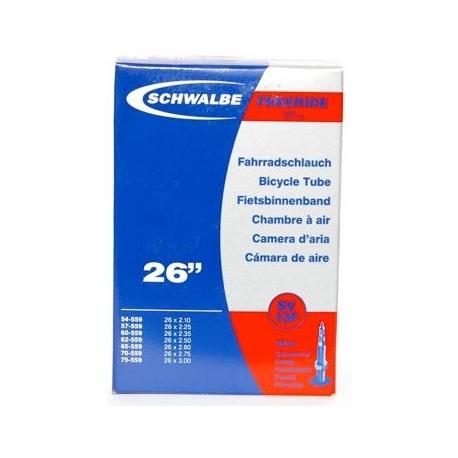 "Schwalbe 26 x 2.1 - 3.0 "" freeride mountain bike inner tube presta valve"