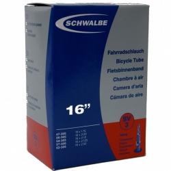 Inner tube 16 x 1.75 - 2.125 inch from Schwalbe - SV3, presta valve