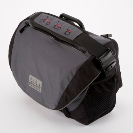 Brompton leather A bag, complete with frame, strap and cover - new for 2010